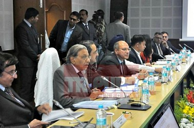 15th Finance Commission team held meeting with cabinet. TIWN Pic Jan 17