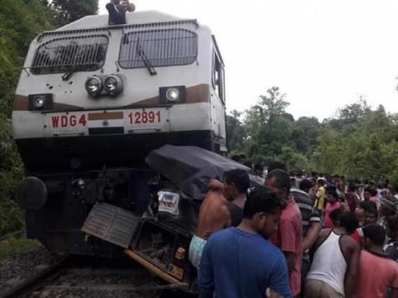 Train, auto collision kills one in Tripura