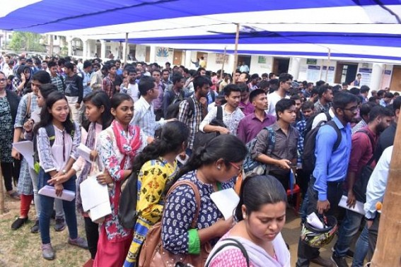 Another pause in Recruitment due to Election : Tripura reels under NIL-Recruitment since January 2018