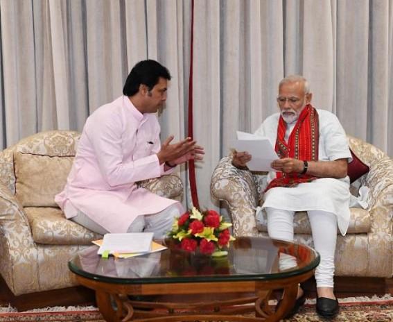 Tripura CM urges new waterways with Bangladesh