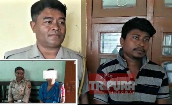 Champamura double murder case : Son arrested in suspect of killing Parents, daughter-in-law booked for interrogation