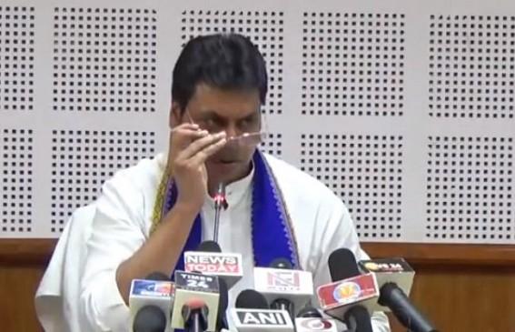 Tripura CM keeps 'watch' on Govt employees' activities till night 3 O'Clock