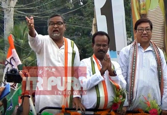 'Businessmen now have to give Rs. 2 lakhs for trade license in Tripura', Congress says, 'It's Jizyah Tax'
