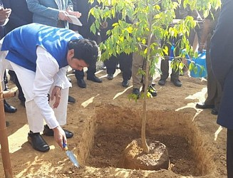 JICA project inaugurated by CM. TIWN Pic Jan 16