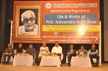 Professor Satyendranath Bose remembered on his birth anniversary. TIWN Pic Jan 16