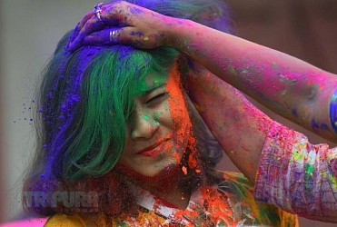 TIWN's best photo of Holi-2019. TIWN Pic March 20, 2019