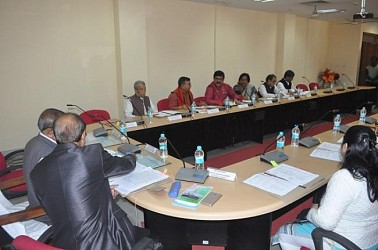 BAC meeting held ahead of Assembly Session. TIWN Pic Feb 18