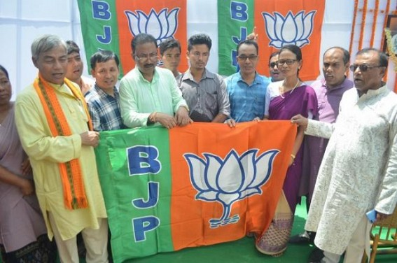BJP, IPFT's ideological clash continues to disrupt Political Partnership : BJP aims to get massive support from ADC, IPFT faction joined BJP