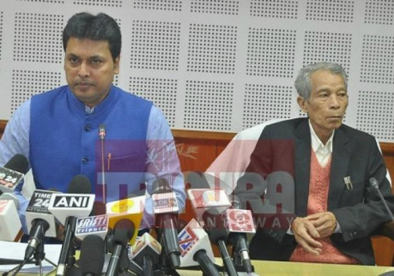 'All INPT protesters' names have come under FIR', warns Biplab Deb