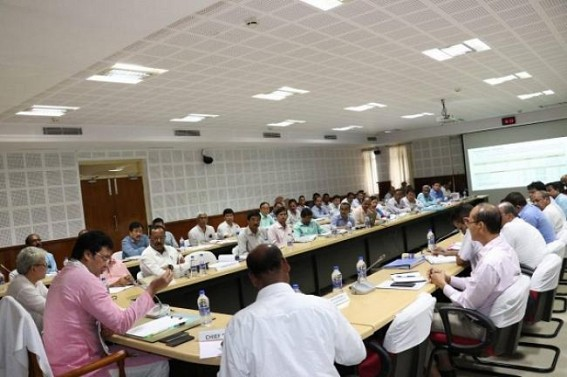 Crucial meeting held with Power Dept, CM orders TSECL to open 24X7 helplines