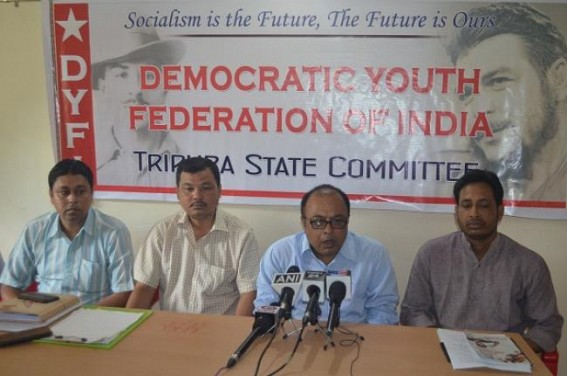 RSS is nation's traitor historically : DYFI