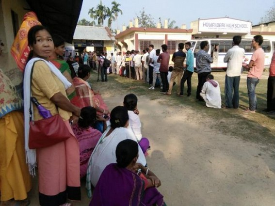Voting completed in Northeast states, Tripura sought 1 re-polling