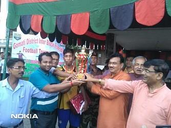 Assam Rifles organized football tournament in Udaipur. TIWN Pic June 17