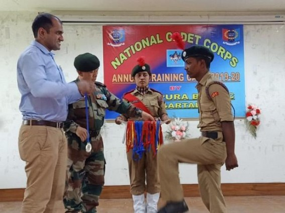 10 days long NCC training camp conducted