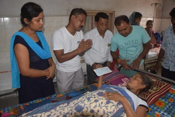 Martyr Sambhu Satmura's mother undergoing cancer treatment in GB Hospital, family seeks help