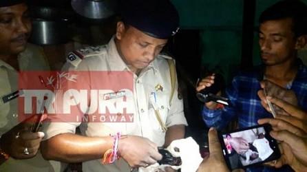 Dharmanagar police seized contraband items worth 50 lakhs seized. TIWN Aug 17