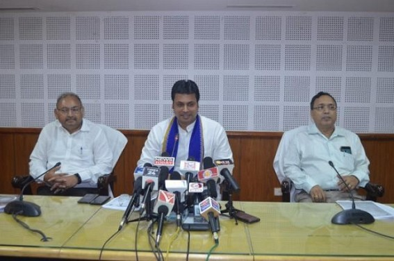 'Only APL families will pay for food in Govt hospitals' : Biplab Deb