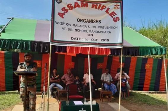 Assam Rifles organized Malaria prevention workshop
