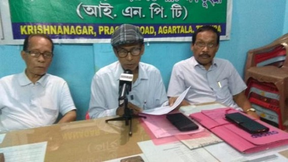 INPT met Governor in protest against CAB