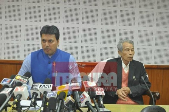 BJP-IPFT relation is strong : Biplab Deb