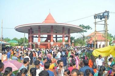 7 days long Kharchi puja ends at Chaturdash Devta temple. TIWN Pic July 16