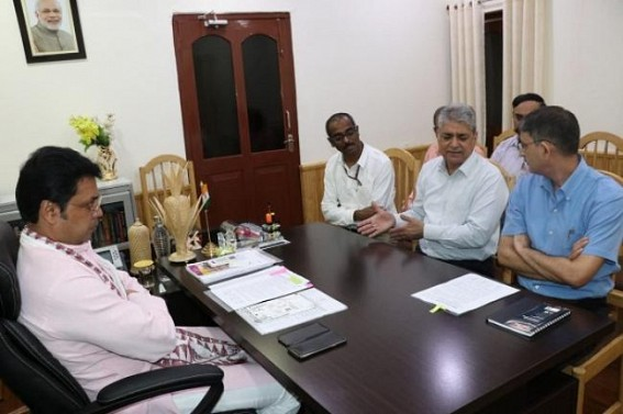 CM held meeting with delegates of Land Port authority of India