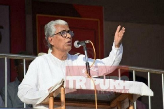 Manik Sarkar condemned attacks on CPI-M Ministers, MP at South & Gomati Districts