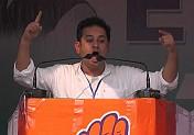 Pradyot Manikya introduces new slogan for Congress 'Cholo Ultai'