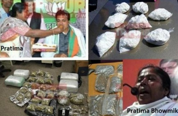 Crime Queen alongwith brother Biswajit control Sonamura Phensedyl, Drug Smuggling Empire : Pratima borrowed Rs 42 Lakhs from Phensedyl King Billal Mia before Assembly Election, after Election Pratima used NDPS Act to Jail