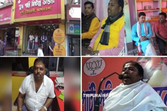 'Sukh Santi Mistanna Bhandar' turned Drug Smuggling Den under Pratima Bhowmik, Public condemn Crime Queen : BJP MLA Surajit Datta's exposure points Hundreds of Crores Narcotic Smuggling Empire Statewide