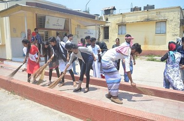 Cleanliness programme held at GB hospital. TIWN Pic April 22
