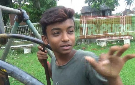 Children urge Tripura Govt to renovate Children's Park at Agartala Joynagar
