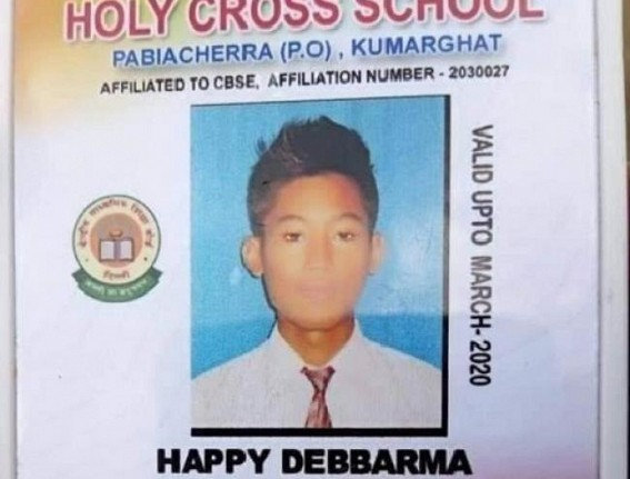 Tripura mourns for Happy Debbarma