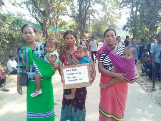Starvation deaths in BJP ruled Tripura as Govt cut ration supplies in Bru camps in force to go back to Mizoram : Massive violation of Human Rights, Food Security Act continues, 6 died, 50 hospitalized