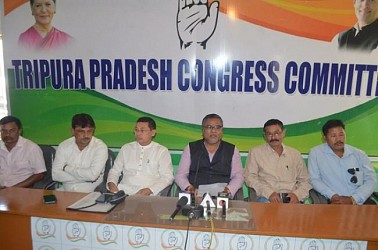 Congress held press meet to announce ADC Election agenda. TIWN Pic Nov 16