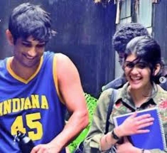 Sanjana Sanghi recalls first day at shoot with Sushant Singh Rajput