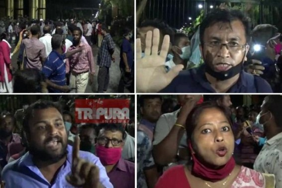 10323 Teachers' massive protest forced BJP Govt to surrender : Minister Ratan Lal agreed to all 10323 demands, Teachers withdrawn Secretariat gherao, mass protests for today : Govt's new decision after Teachers' meeting with CM in 7 days
