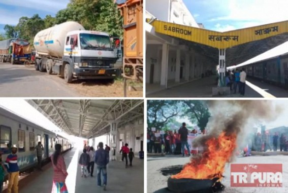 Panisagar Violence : Rail, Road Transport System Affected in Tripura as Regional Party Calls Strike