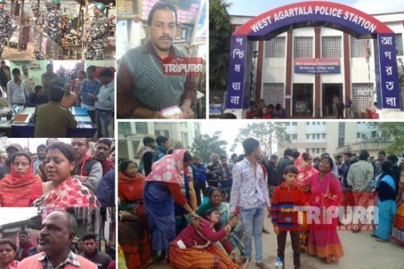 Custodial alleged murder at West Agartala PS : Victim Sushanta Ghosh predicted murder conspiracy few hours before his death !!! Only 1-Day Police custody was given by Court, ended in 'Final-Death'