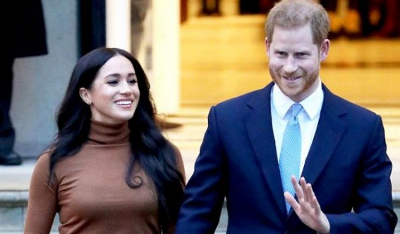 UK royals gather for talks over Harry-Meghan's future
