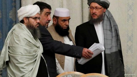 US-Taliban discuss peace deal in new talks