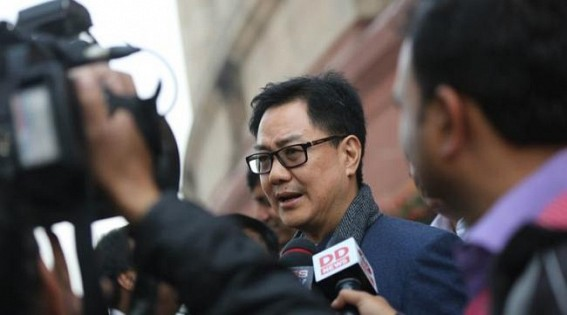 All sexual harassment cases to be disposed off in 4 wks: Rijiju