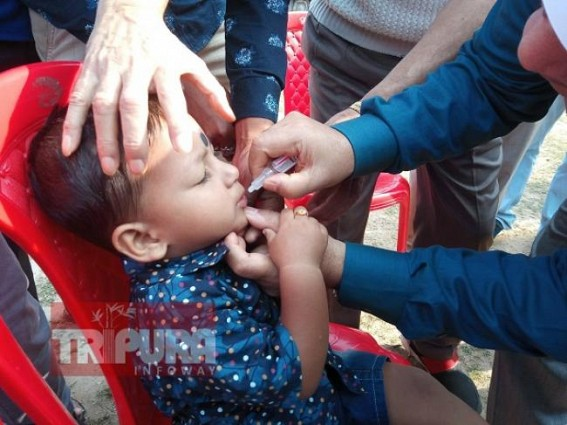 Pulse Polio Drive held in Tripura