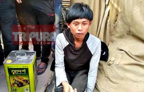 Boy caught after purchased heroin, No arrest of drug dealer yet