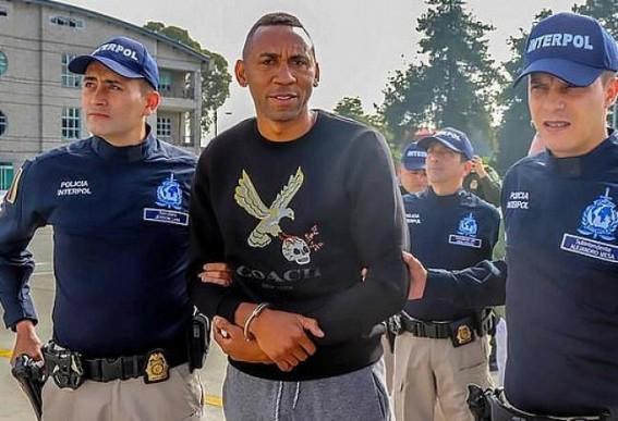 Ex-Colombia midfielder Jhon Viafara extradited to US
