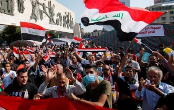 Areas blocked by anti-govt protesters in Iraq reopened