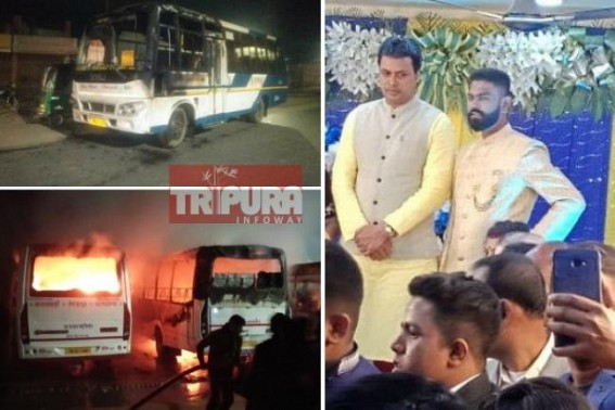 CM's gross misuse of Helicopter for personal use, attended a Udaipur's BJP Criminal's marriage function : Biplab Deb has no time to meet murdered Police Officer Durga Chandra Hrankhawl's Family