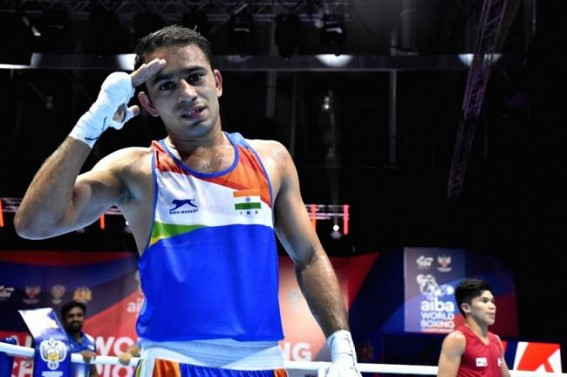 Amit Panghal to enter Olympic Qualifiers as No.1 pugilist