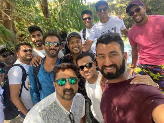 Ahead of NZ Tests, Team India visits Blue Springs in Putaruru