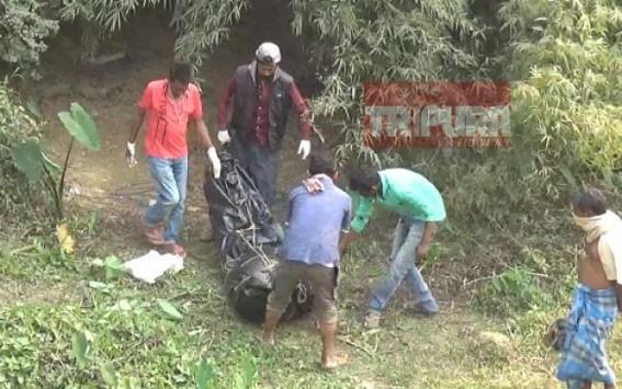Missing Man's body found in Tripura